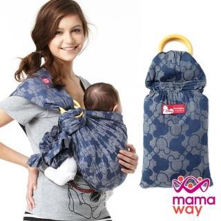 【mamaway 媽媽餵】迪士尼米奇萬花筒育兒背巾(共2色)