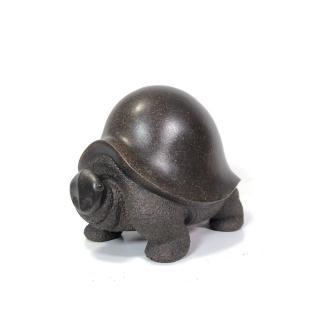 【中國宜興紫砂雕塑】精緻手工紫砂烏龜(創藝工坊 茶寵 茶藝品 烏龜 紫砂雕塑)