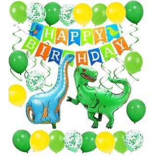 【WIDE VIEW】恐龍主題派對生日氣球套組(BL-09)