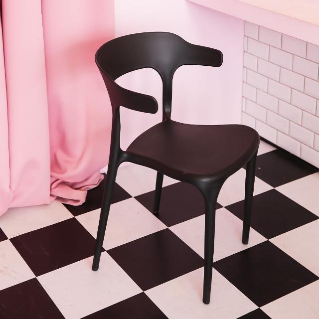 【MAMORU】北歐繽紛休閒椅二入(餐椅/花園椅/辦公椅)
