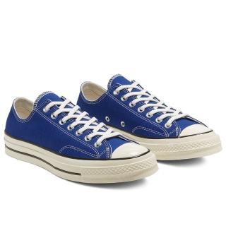 【CONVERSE】CHUCK 70 OX RUSH BLUE/EGRET/BLACK 低筒休閒鞋 男女 藍色(168514C)