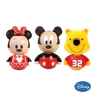 【酷博士】Disney迪士尼可愛造型不倒翁(三入一組)