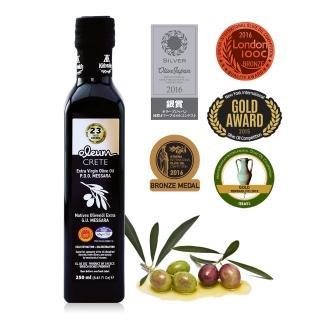 【希臘OLEUM CRETE】奧莉恩特級初榨橄欖油1瓶(250毫升)