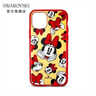 【SWAROVSKI 施華洛世奇】Minnie iPhone 11 Pro 保護殼