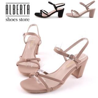 【Alberta】7cm高跟涼鞋