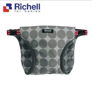 【Richell 利其爾】POUCHU 穿式椅子用固定帶(寶寶外出更安全)