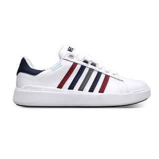 【K-SWISS】K-SWISS PERSHING COURT LIGHT WP 防水 女款休閒鞋 白 96387164(96387164)