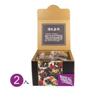 【秧田良品】友善無毒紅玉黑糖薑紅茶2入組(花蓮鶴岡-清風茶行)