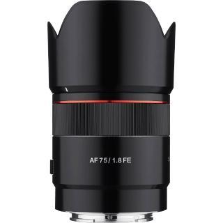 【韓國SAMYANG】AF 75mm F1.8 FE 自動對焦定焦鏡(公司貨 Sony-FE接環)