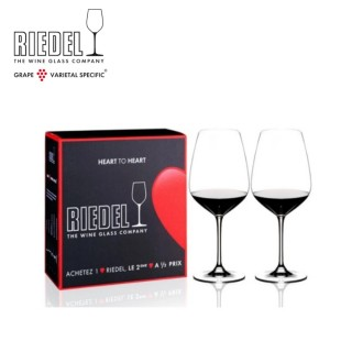 【Riedel】Heart to Heart Cabernet Sauvignon紅酒杯對杯(情人節酒杯首選)