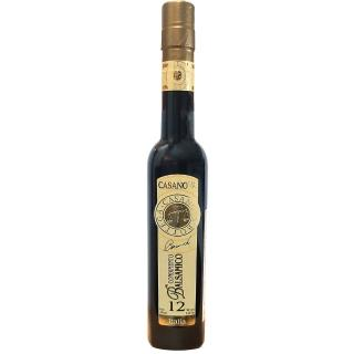 【Casanova】卡薩諾瓦巴薩米克陳年紅葡萄醋12年250ml(台灣總代理原瓶原裝進口)
