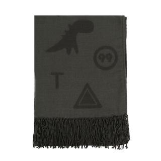 【agnes b.】Sport b. 圍巾(綠)