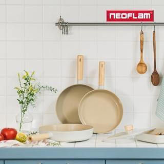 【NEOFLAM】FIKA鑄造不沾3鍋組(IH、電磁爐適用)