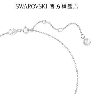 【SWAROVSKI 施華洛世奇】Zodiac II 白金色星座鏈墜 情人 禮盒