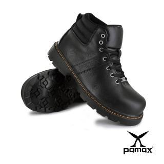 【PAMAX 帕瑪斯】帥氣馬丁安全鞋/工作靴/新型專利止滑耐磨底/超彈力氣墊(PW5911FEH /男女)