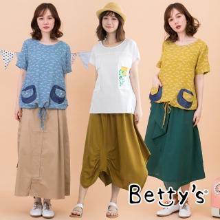 【betty's 貝蒂思】精選日式印花上衣