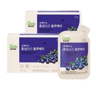 【正官庄】高麗蔘藍莓飲2盒組 (50mlX30入)