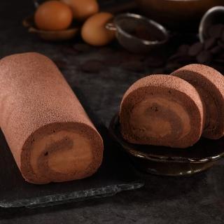 【七個小日子】巧克力生乳捲 2捲組合(來自比利時的精品口感)