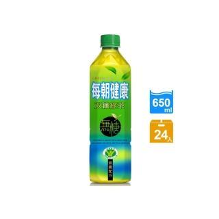 【每朝健康】雙纖綠茶650ml(24入/箱)_週期購