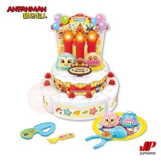 【ANPANMAN 麵包超人】來吹蠟燭慶生吧!麵包超人生日蛋糕組