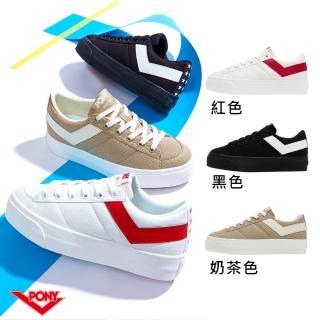 【PONY】PRO80  厚底鞋 復古鞋 女性 三色 03W1PR01