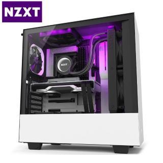 【NZXT 恩傑】H510i 5小 數位控制 白黑 透側電競機殼