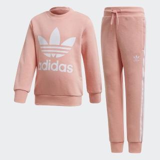 【adidas官方旗艦館】運動套裝 男童/女童(FM5623)