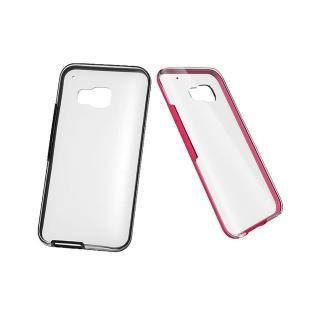 【HTC 宏達電】買一送一 HTC One M9 原廠彩邊雙料透明保護殼HC C1153(台灣代理商-盒裝)