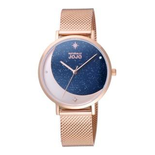 【NATURALLY JOJO】星辰照耀時尚腕錶-玫瑰金(JO96977-55R)