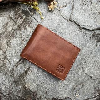 【西班牙品牌BIBA】Michigan 美版雙層牛皮皮夾(錢包 皮包 手工包 植鞣皮夾)