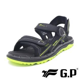 【G.P】男女共用款 中性休閒舒適涼拖鞋   男鞋(綠)