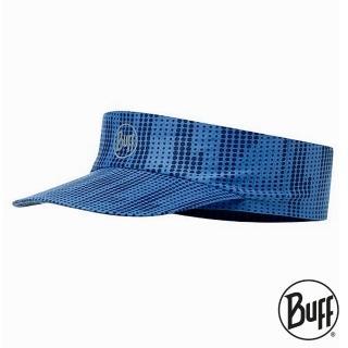 【BUFF】Coolmax抗UV 快乾頂空帽 海軍藍紋 BF115095-790-10-00(路跑/防曬/健行/單車/爬山/吸濕排汗)