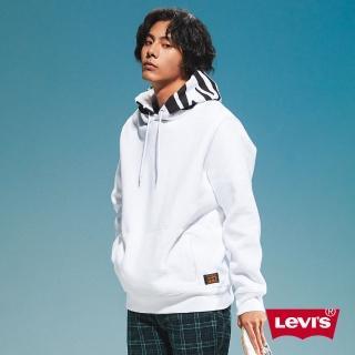 【LEVIS】男款 重磅口袋帽T / 滑板系列 / 斑馬紋帽緣-人氣新品