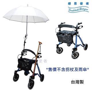 【感恩使者】散步購物車 - 鈦瑪2 ZHTW2017(附雨傘固定架 有煞車、可坐 輕鬆散步 銀髮族用品 台灣製)