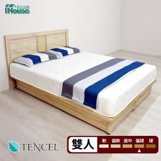 【加購】IHouse天絲防蹣抗菌彈簧床墊(雙人5尺)