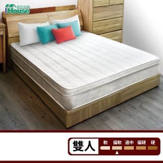 【加購】IHouse乳膠防蹣抗菌獨立筒床墊(雙人5尺)