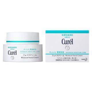【日本花王Curel】潤浸保濕深層乳霜 40g(極緻保濕  屏護敏弱肌)