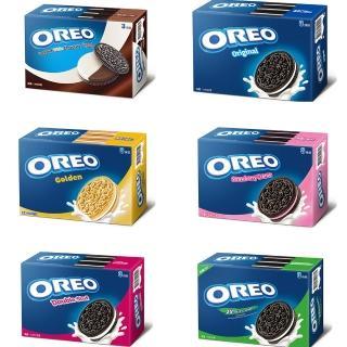 【OREO 奧利奧】夾心餅乾三條裝量販包