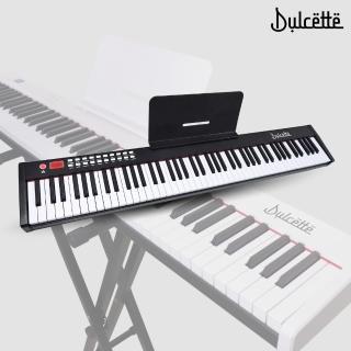 【Dulcette】88鍵標準厚鍵電子鋼琴(#1美國亞馬遜暢銷Dulcette