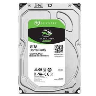 【贈64G隨身碟】Seagate BarraCuda 8TB 3.5吋 5400轉 桌上型硬碟(ST8000DM004)+【Kingston 金士頓】64GB 隨
