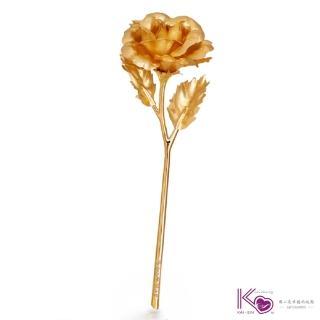 【100% Gold Foil 金箔】迷你玫瑰花(黃金箔;禮品;禮物)
