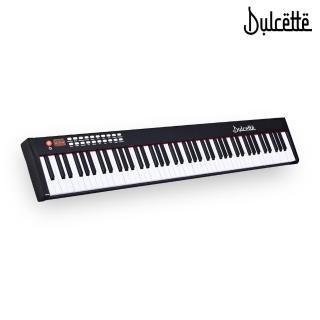 【Dulcette】61鍵標準厚鍵電子鋼琴(#1美國亞馬遜暢銷Dulcette DC-11鋼琴原音 可攜式電子鋼琴電子琴)