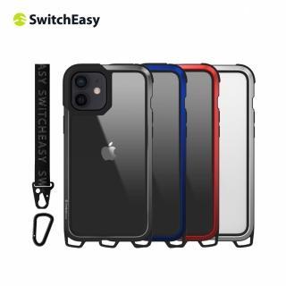 【SwitchEasy】Odyssey 掛繩軍規 5.4吋 iPhone 12 mini 金屬手機保護殼(頸掛殼 吊繩殼 背帶殼)