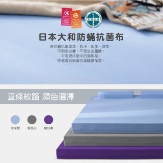 【House Door 好適家居】年度限量款-日本大和抗菌表布12cm記憶床墊(單人3尺-防疫好眠)