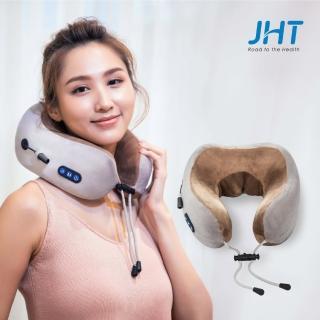 【JHT】U型包覆無線按摩枕/