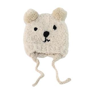 【Baby 童衣】任選 可愛加厚小熊造型寶寶帽子 88560(共一色)