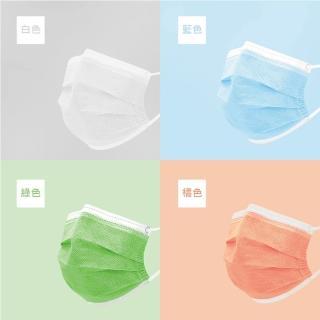 【團購世界】八色繽紛成人三層高濾熔噴口罩50入組(八色繽紛成人三層高濾熔噴口罩)