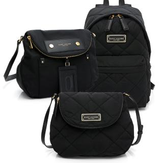 【MARC JACOBS 馬克賈伯】品牌經典熱銷 後背包、斜背包(多款任選)