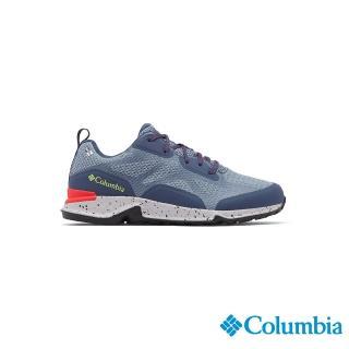 【Columbia 哥倫比亞】女款- Outdry 防水健走鞋-墨藍(UBL00770IB / 越野.運動.靴子)