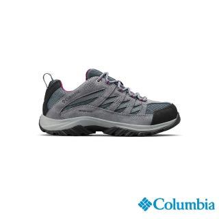 【Columbia 哥倫比亞】女款- OT防水健走鞋-深灰(UBL53720DY / 越野.運動.靴子)